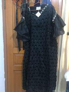 Aiyra Black Dress