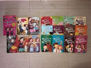 Enid Blyton's Malory Tower and St Clare's FULL SET