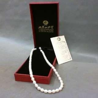 大東山 天然淡水珍珠項鍊