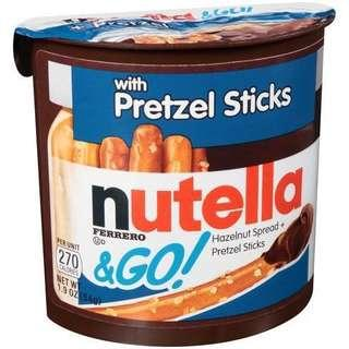 NUTELLA GO! Pretzel Stick [READY STOCK]