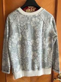Zara cotton top in flower pattern