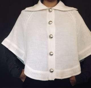 Knitted bat wing sweater / outer