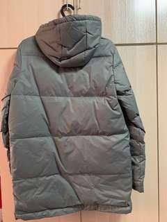 Winter 100% down jacket (Used only once)