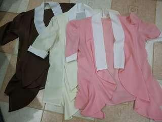 PRELOVED BUNDLE OF 3 PCS CARDIGAN (from BANGKOK)