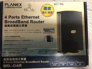 Ethernet Broadband Router - 4 ports