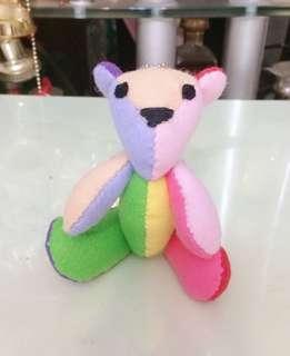 🚚 手工彩色泰迪熊