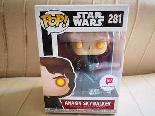 Anakin Skywalker, Walgreens exclusive, Funko Pop