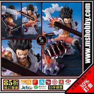 男魂 85折預訂 團購 5-6月 可順豐 日版 莫奇D路飛 路飛 4檔 大蛇人 海賊王 Bandai Figuarts Zero One Piece Monkey D. Luffy Fourth Gear Snakeman Figure 玩具 模型 首辦