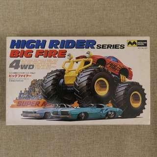 Mitsuwa Big Fire 4WD 四驅車 絶版模型 1:43 Tamiya