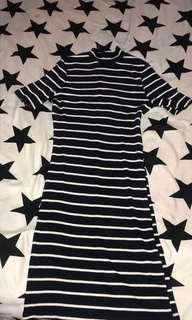 H&M dress body fit