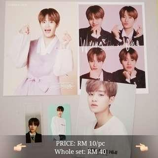 [WTS] Wanna One Daehwi official cards