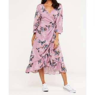 COTTON ON Caitlyn wrap dress