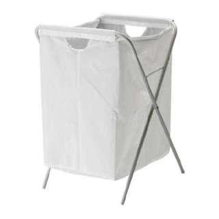IKEA JÄLL 洗衣袋/洗衣藍/洗衣架/收納藍(白)