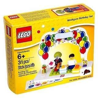 🚚 MISB Lego 850791 birthday minifigures set