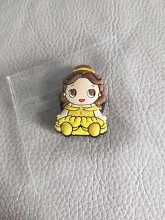 迪士尼 貝兒 公主 磁石貼