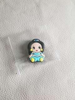 迪士尼 茉莉 公主 磁石貼