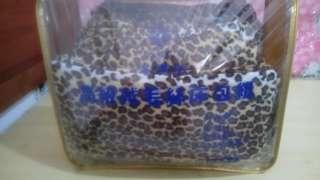 🚚 豹紋保暖床包組