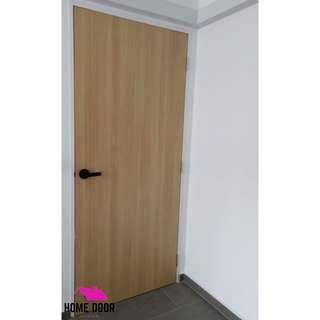 Solid Melamine bedroom door for HDB & BTO