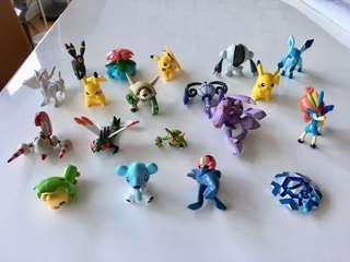 20-pc Pokemon Figures