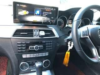 Mercedes C class W204 Android