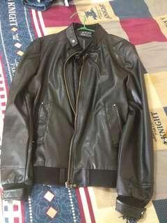 🚚 High quality PU leather jacket