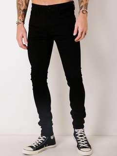Lee Sub Zero Jeans in Black (size 29)