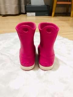 #bersihbersih booth crocs girl original size 7 size