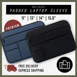 🚚 🔅cT🔅 MZIPV1 ST SLEEVE LAPTOP CASING laptop bag for all laptops case laptop BLACK BLUE COLOUR