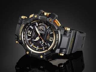 100% Authentic Casio Gshock GPW1000 GPW1000GB Gold Black GPS Sensor with FREE DELIVERY 📦 G-Shock