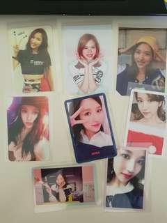 Mina photocard