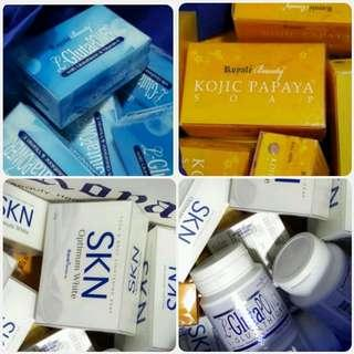 *CLEARANCE* Royale Kojic Papaya & L-Glutapower SKN Glutathione Supplements Beauty & Facial Soaps