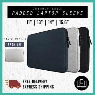 🚚 🔅cT🔅 BASIC single zip LAPTOP BAG LAPTOP CASE laptop casing laptop sleeve bag BASIC SINGLE SLOT DESIGN NEW