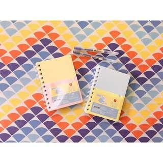 A6 Lined Notebooks and Muji Pens Japan