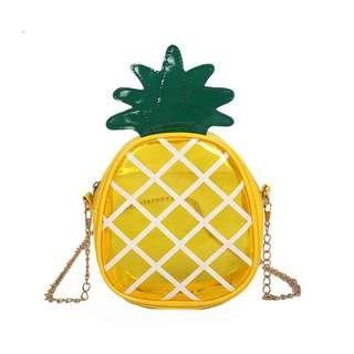 pineapple sling bag