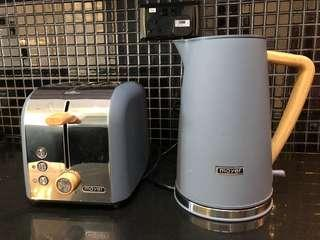MAYER 1.7L kettle and 2 slot toaster