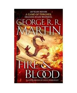 Brand New - Fire & Blood: 300 Years Before A Game of Thrones (A Targaryen History) (A Song of Ice and Fire)  - Hardcover