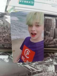 NCT Dream We Go Up Chenle Photocard