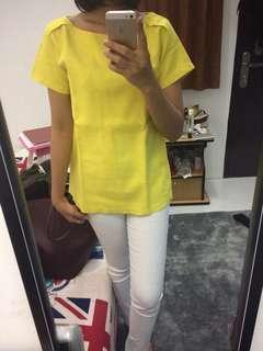 Yellow top #bersihbersih