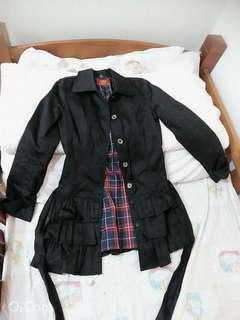 🚚 黑色氣質大衣外套#衣櫃大掃除