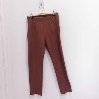 🆕BRAND NEW Brown Cotton Slack Pants