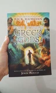 Novel import Greek gods