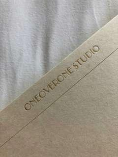 Taiwan One Over One Studio Grid Notebook