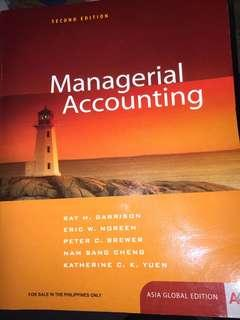 Managerial Accounting by Garrison