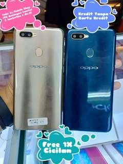 Kredit Tanpa Cc Oppo A7 Smartphone 4/64GB Proses Mudah