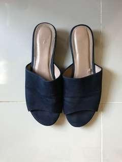 Forever New Blue Mules