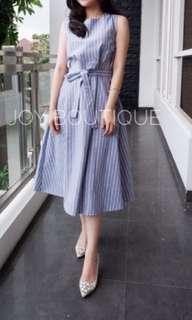 Dress Midi Blue