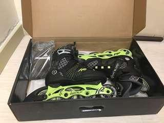 Women's K2 Rollerblade size US 7 with protective gears