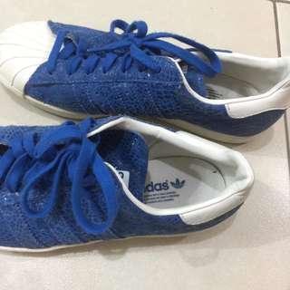 Surf Blue Adidas Superstar