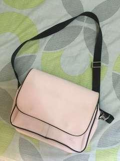 Pink Lacoste Shoulder/Body Bag