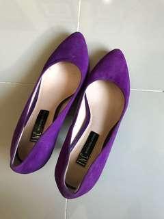 INC Purple Heels